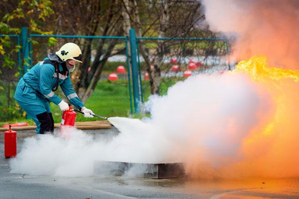 Symbolbild: Brandschutz Unterweisungen