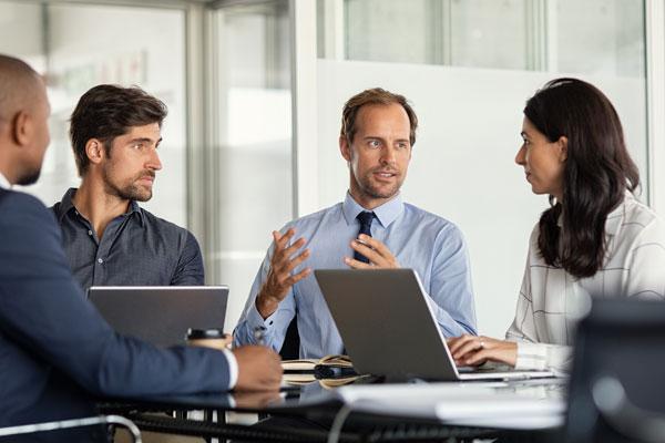 Symbolbild: IT-Sicherheit in Unternehmen